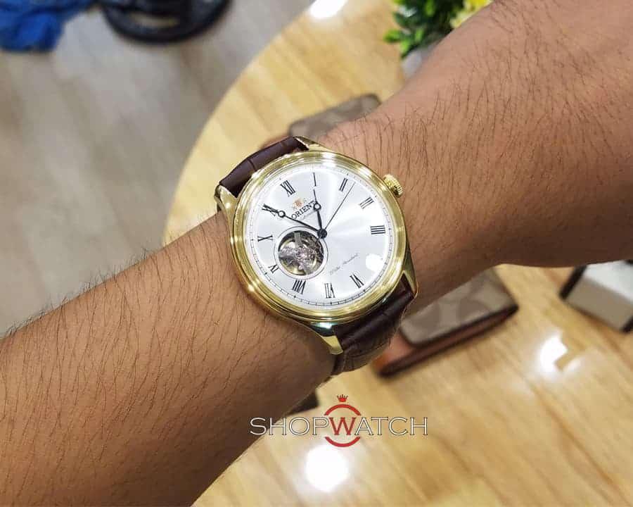hướng dẫn đeo đồng hồ Orient FAG00002W0 đúng