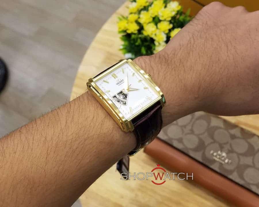 đồng hồ Orient FDBAD003W0 mạ vàng