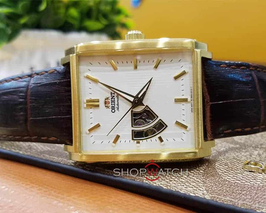 đồng hồ Orient FDBAD003W0 mặt vuông