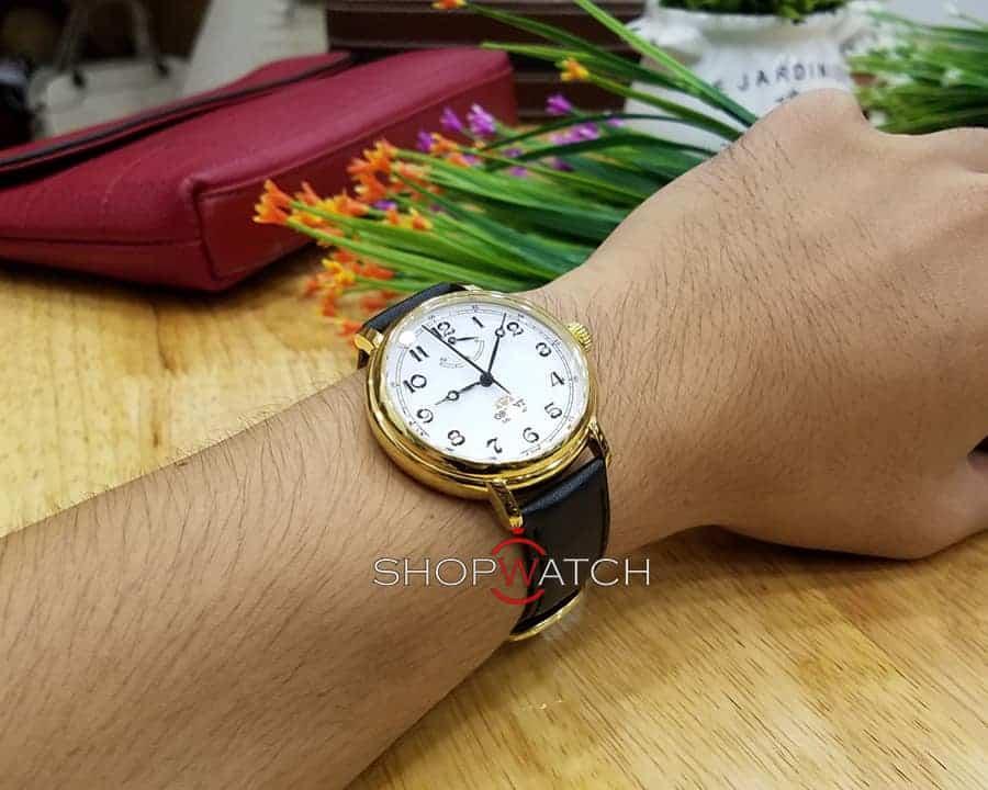 đồng hồ Orient FDD03001W0 dây da chính hãng