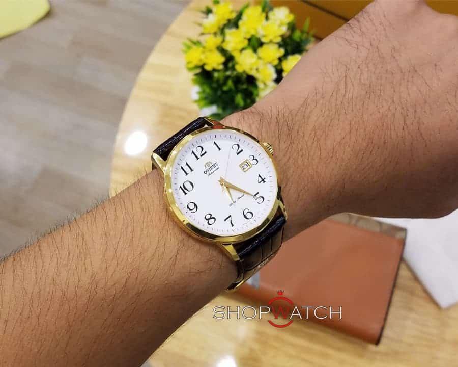 cách đeo đồng hồ Orient FER27005W0 đẹp