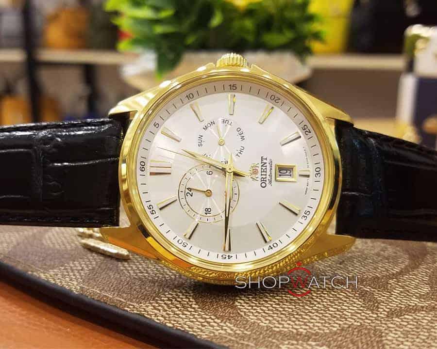 đồng hồ nam Orient FET0R004W0 mạ vàng