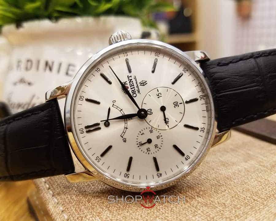 đồng hồ cơ Orient FEZ09004W0 dây da cá sấu
