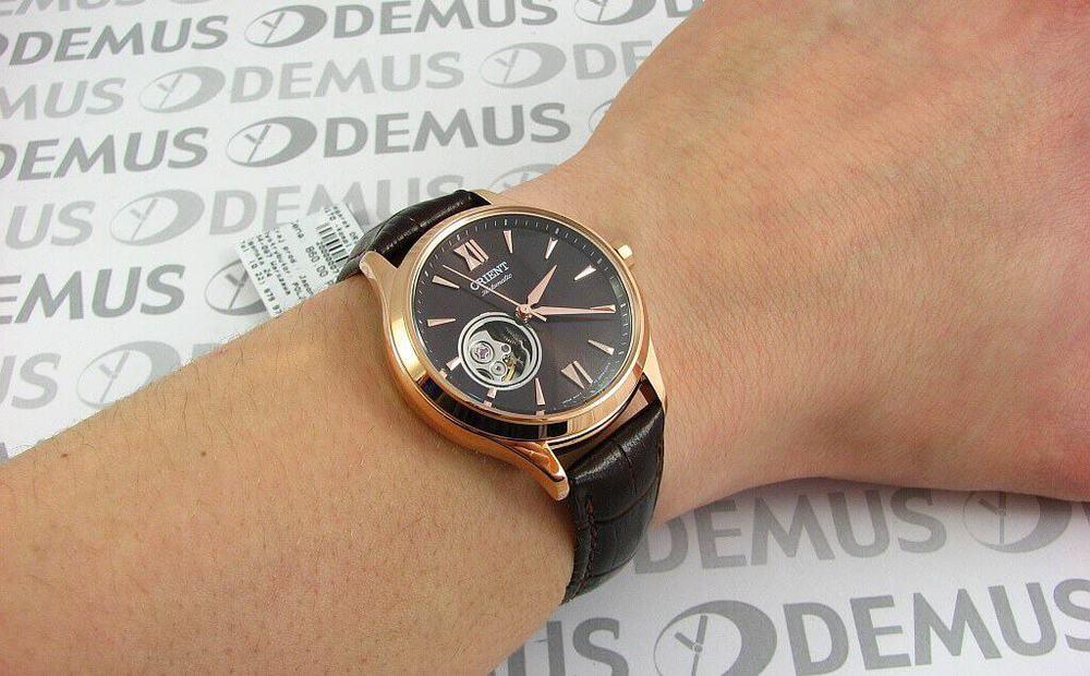 đồng hồ nữ Orient FDB0A001T0 mạ vàng