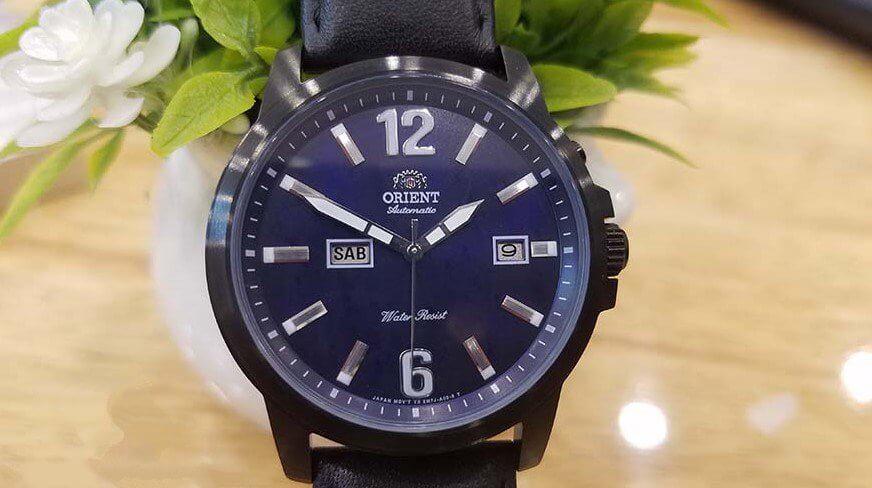 phân biệt đồng hồ Orient FEM7J002D9 chính hãng và fake