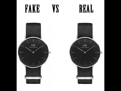 hướng dẫn phân biệt đồng hồ DW replica và đồng hồ DW chính hãng