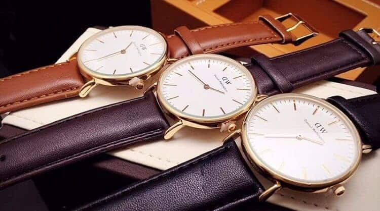 review đồng hồ Daniel Wellington dây da