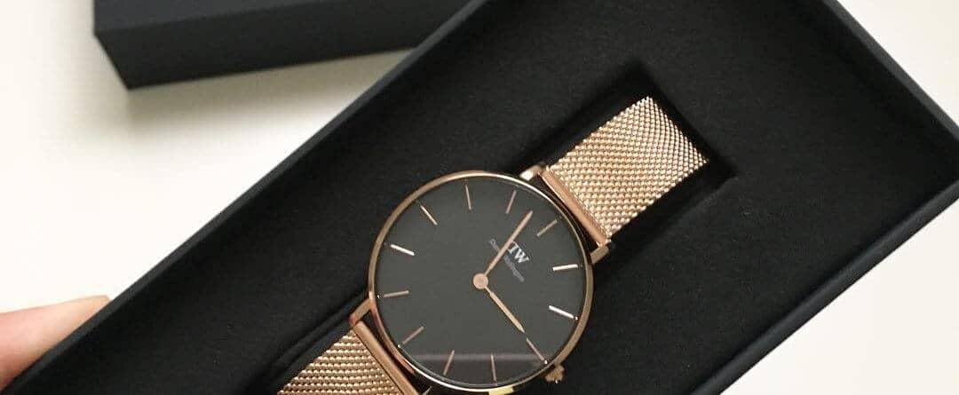 review đồng hồ DW dây kim loại