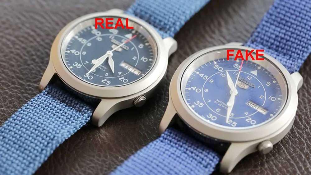 phân biệt đồng hồ Seiko 5