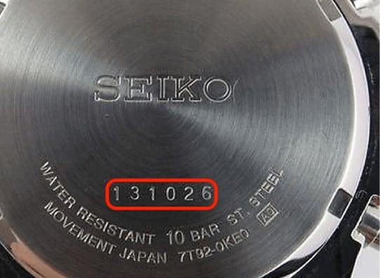 phân biệt đồng hồ Seiko fake