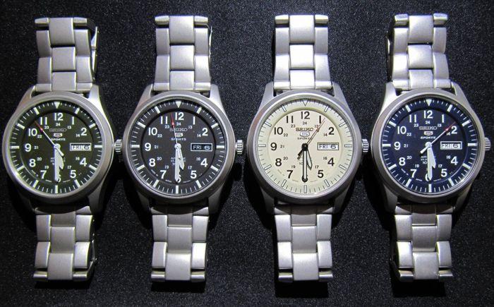 các mẫu đồng hồ Seiko bị làm giả