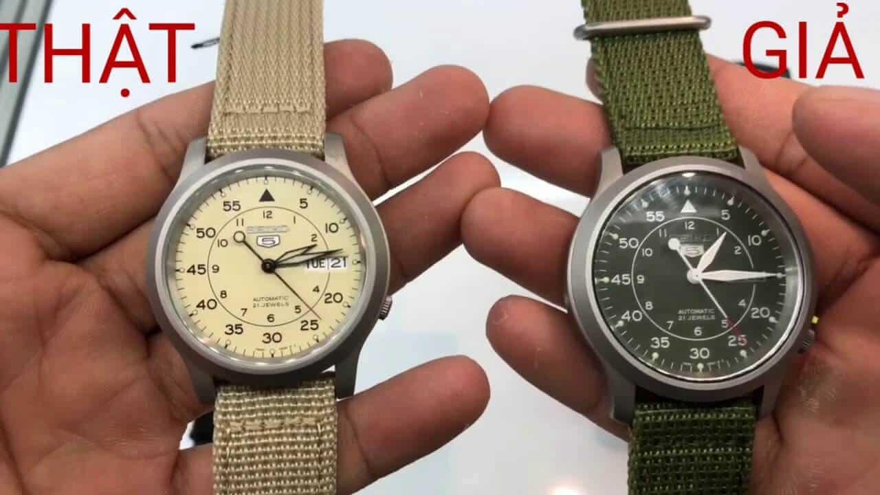 Kết quả hình ảnh cho Cách phân biệt đồng hồ Seiko chính hãng và hàng fake