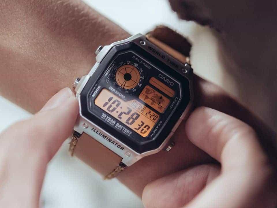 giá đồng hồ casio