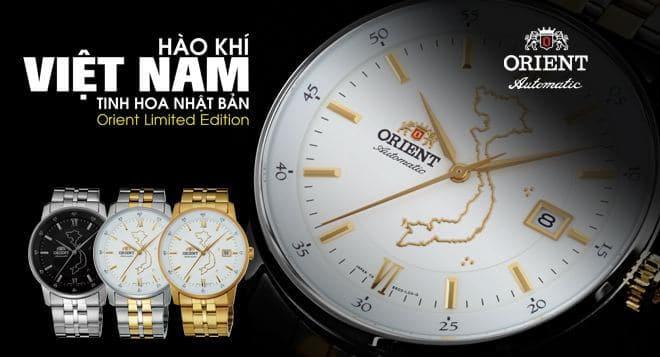 đồng hồ Orient bản đồ việt nam