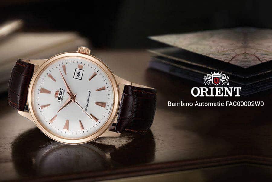 bộ sưu tập đồng hồ Orient mạ vàng