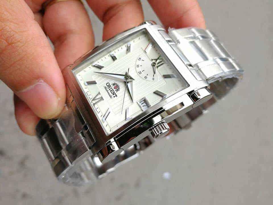 đồng hồ Orient chính hãng mặt vuông