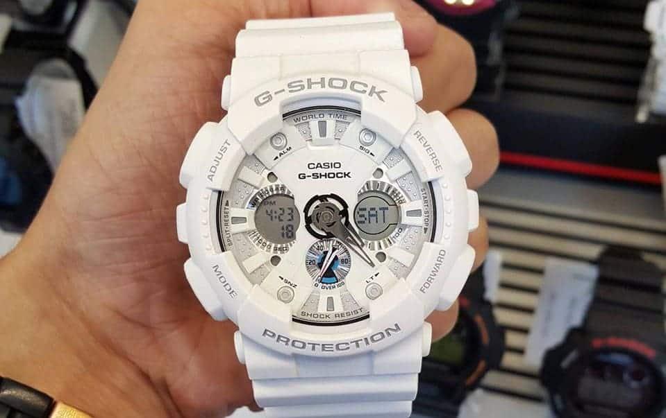 cách chỉnh đồng hồ g shock