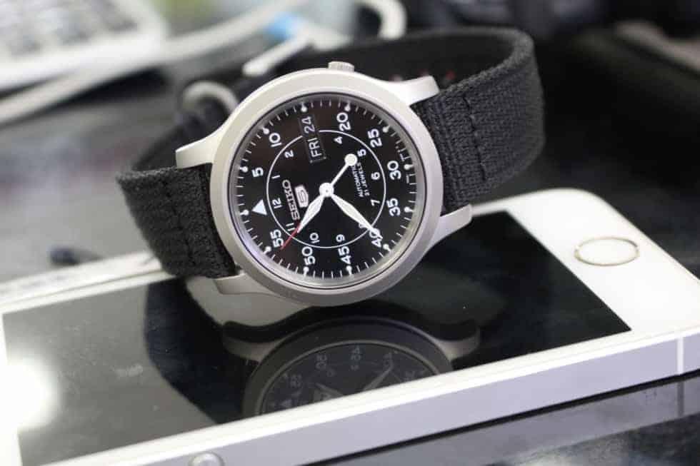 cách sử dụng đồng hồ cơ seiko