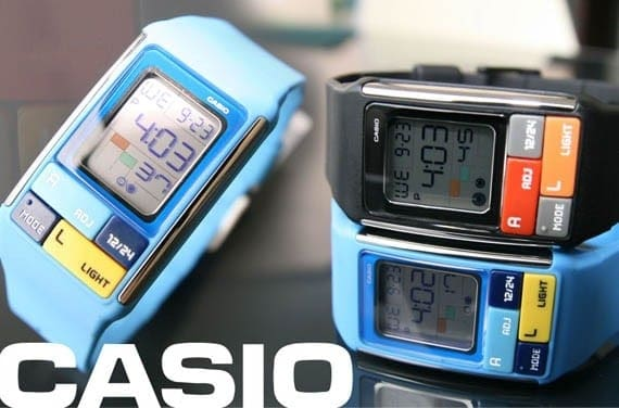 đồng hồ điện tử casio