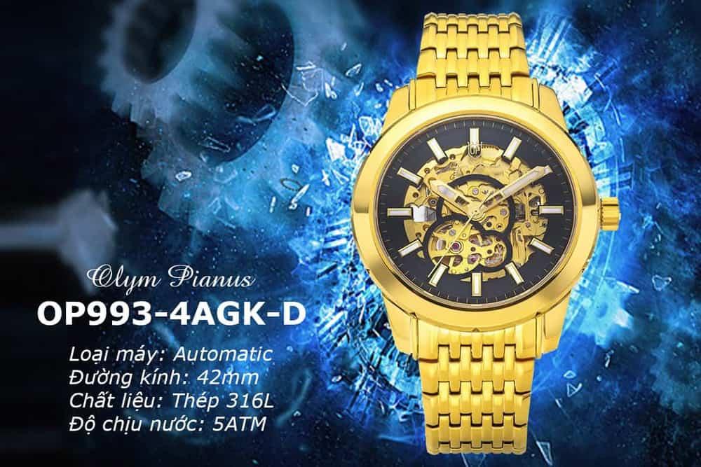 đồng hồ OP Skeleton giá rẻ