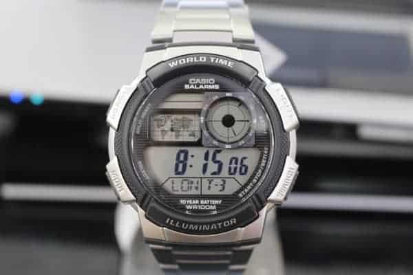đồng hồ điện tử casio nam