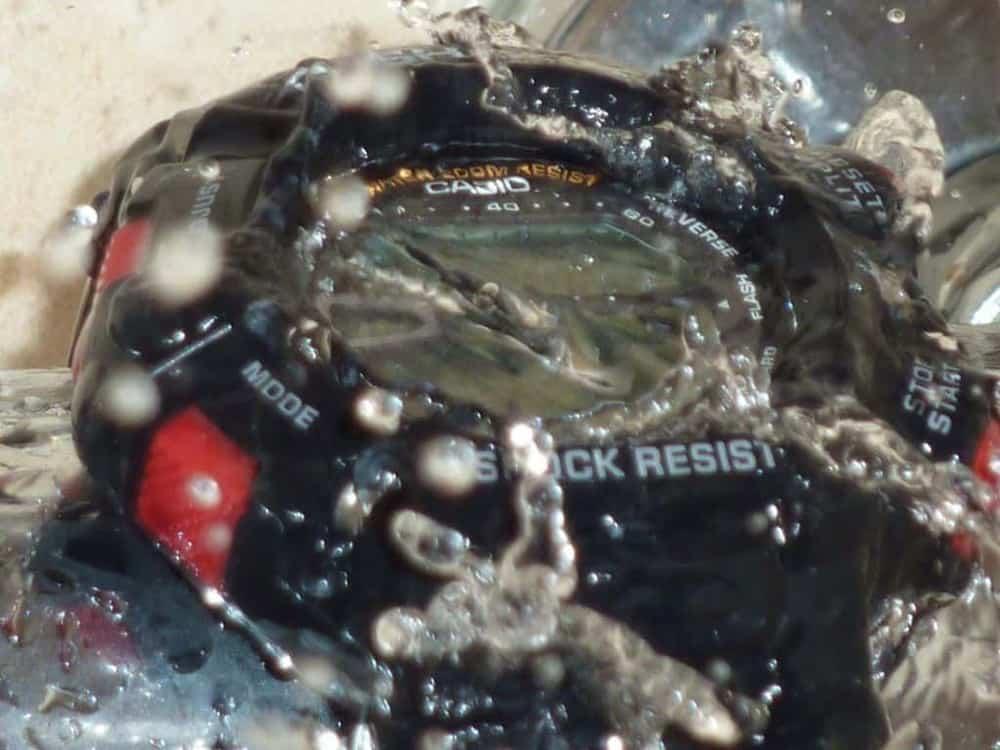 đồng hồ casio water resist