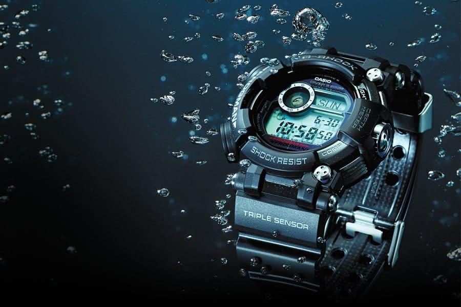 đồng hồ casio quartz water resist