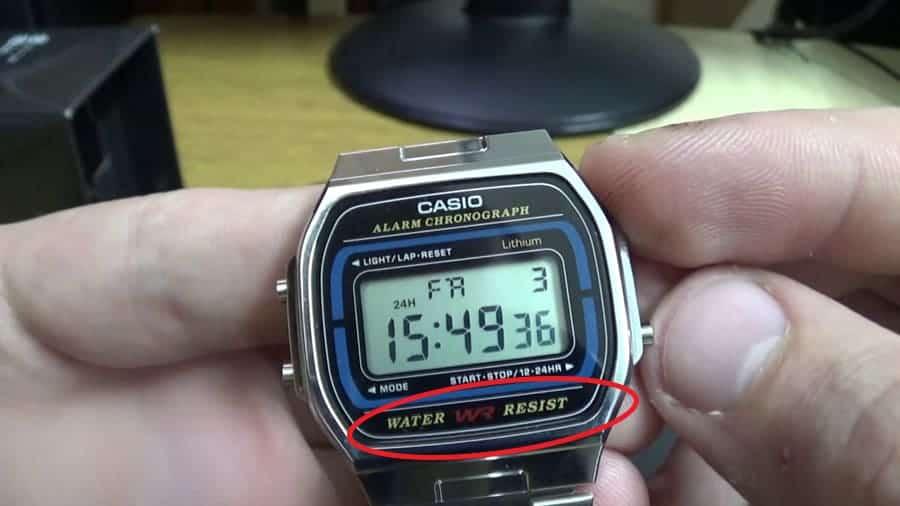 đồng hồ casio WR100