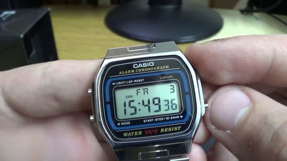 đồng hồ casio vintage
