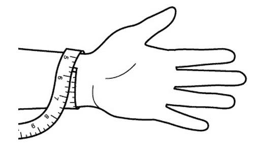 cách đo cổ tay đeo đồng hồ