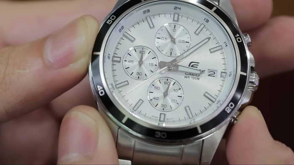 cách sử dụng đồng hồ Casio Edifice chuẩn nhất
