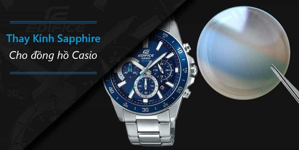 Đồng hồ Casio kính Sapphire