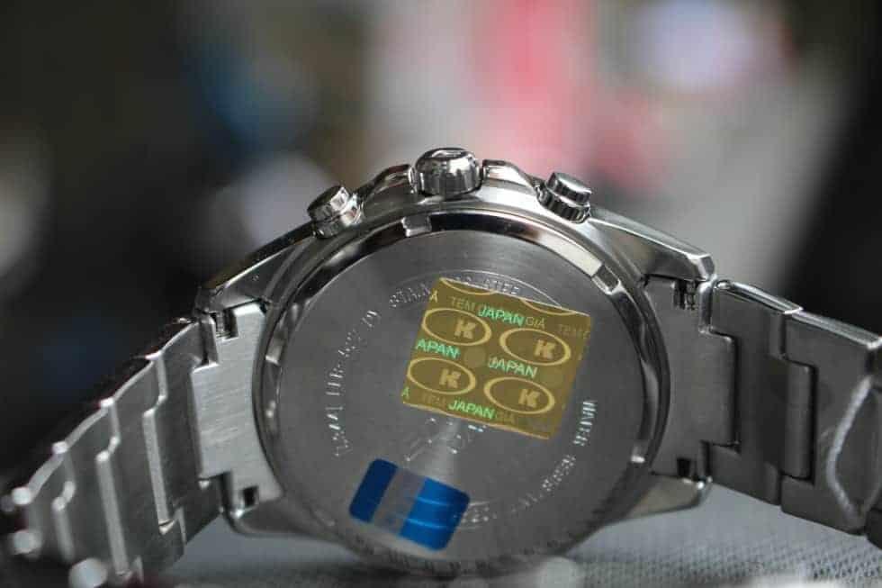 phân biệt đồng hồ casio thật giả