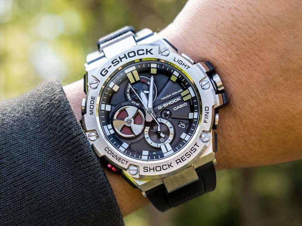 check seri đồng hồ casio g-shock