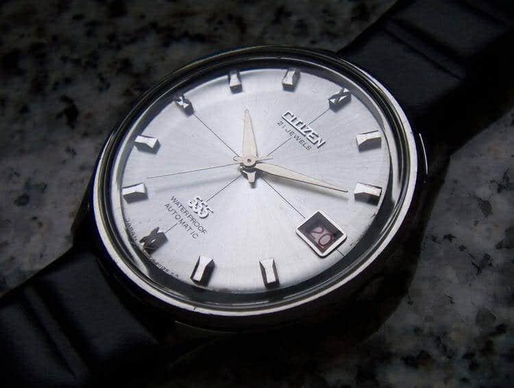 đồng hồ citizen 21 jewels