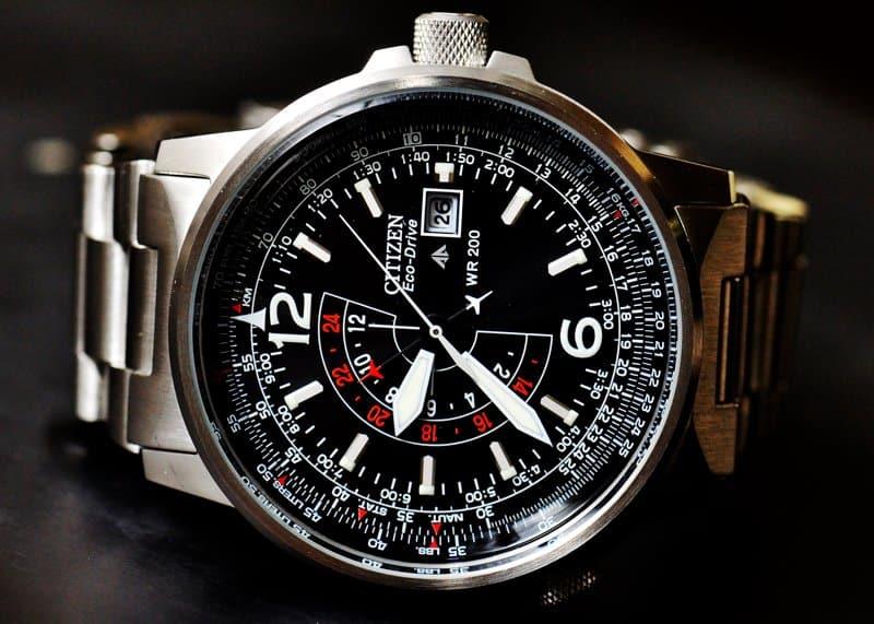 đồng hồ citizen 6 kim