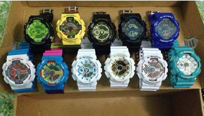 đồng hồ g shock fake loại 1