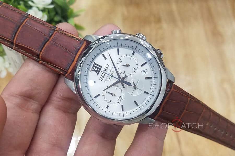 Đồng hồ Seiko 6 kim giá rẻ